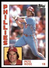 1984 Topps Baseball Card Pete Rose Philadelphia Phillies #300