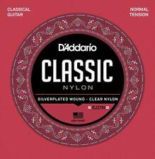 D'Addario EJ27N, Set Corde per Chitarra Classica, Ej27 Classic Nylon, 0,28-0,43