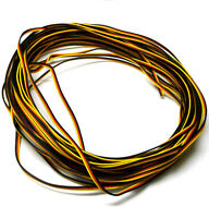 Compatible Hitec Extension Lead Wire Flat 2m 200cm 22AWG 2 Meter