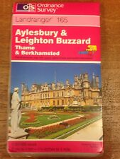 Aylesbury And Leighton Buzzard: Thame: Landranger 165: Ordnance Survey Map