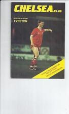 Teams C-E Everton League Cup Football Programmes