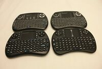 JOB LOT 4 X MINI WIRELESS REMOTE KEYBOARD MOUSE FOR SMART TV ANDROID KODI TV BOX