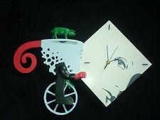 Frank Slabbinck Art Sculpture Clock Colors of life  ' I'm going there'  523973
