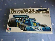 1/12 Tamiya Tyrrell P34 F1 Model kit. Original kit