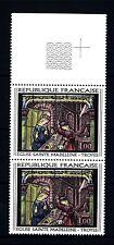 FRANCE-FRANCIA 1967 Vitrail de l'église Sainte Madeleine de Troyes, Aube MNH (G)