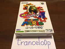 Super Mario 64 - Shindou Edition (Rumble Pak Edition) Nintendo 64 Brand New