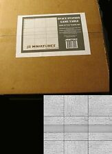 "JR Miniatures #7062 Space Station Game Table Full  Nine 12"" x 12"" Panel Set NIB"
