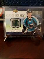 2007 Upper Deck Game Jersey Series 1 #J-BG Bill Guerin New York Islanders Card