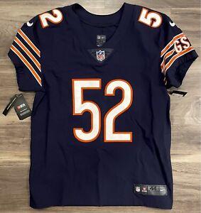 Authentic Chicago Bears Khalil Mack Football Jersey Nike Elite Vapor Untouchable