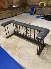 More details for wrought iron fender fireguard victorian