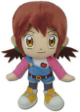 "NEW Great Eastern GE-52766 Digimon Digital Monsters 9"" Angie Hinomoto Plush Doll"