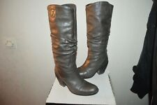 CHAUSSURE BOTTES CUIR COP COPINE  TAILLE 36  LEATHER BOOTS/BOTAS/STIVALI BE