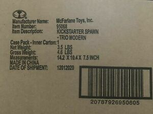 McFarlane Toys Kickstarter Trio Modern Spawn Action Figure Sealed