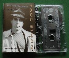 Paul Simon Negotiations & Love Songs 1971-1986 (2on1) Cassette Tape - TESTED