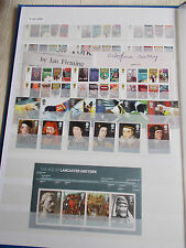 2008 Complete Commemorative Collection with M/Sheets Superb M/N/H - Face £78+