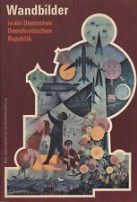 Wandbilder in der DDR Bild- und Leseheft für die Kunstbetrachtung Klasse 5, 1973