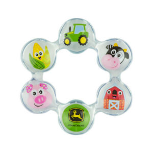 NEW John Deere Lamaze Chill Teethers, Pack of 2, Ages 0 LP73961