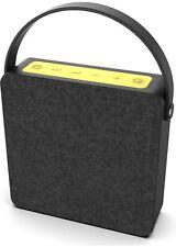 Heavy Duty Loud Speaker Portable Bluetooth Wireless With Bass Rechargeable W/Mic