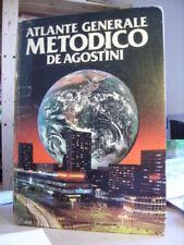 ATLANTE GENERALE METODICO DE AGOSTINI    Istituto Geografico De Agostini  1985
