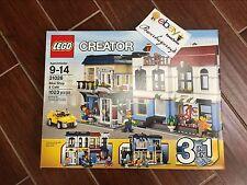 NEW LEGO Creator Bike Shop & Café 31026 Building Toys Christmas Gift 2 DAY GET