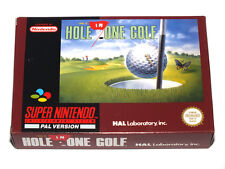 Hole in golf – Super Nintendo - muy buen estado