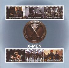 2016 X-Men - 6 Stamp Sheet - 3H-976