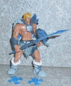 Motu Glace Armure He-Man Complet 2002 200x Masters De Univers He-Man
