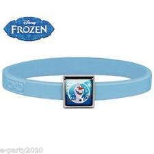 FROZEN ROXO SMALL Blue SILICONE BRACELET (1 charm) ~ Birthday Party Supplies
