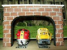DOUBLE TUNNEL PORTALS  For Model Railroad Layouts // HO Scale // Miniature Train