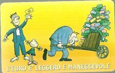 SCHEDA TELEFONICA SAN MARINO  GOLDEN 83 NUOVO CATALOGO N. 8 Benvenuto Euro