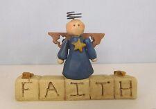 Faith Angel - New resin decorative block with an angel by Blossom Bucket #26900