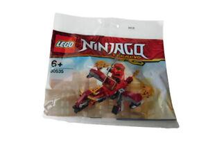 Lego Ninjago Legacy 30535 Kais Feuerdrache Polybag Spielzeug Set NEU