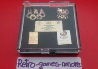 1988 Calgary Winter Olympics USA Olympic Commemorative XEROX Sponsor set of pins