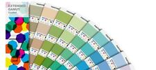 Pantone EXTENDED GAMUT Coated Guide. Colours simulated in 7 colour process.