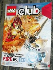 LEGO Club Magazine, July/August 2014. Legends of Chima, Fire Vs. Ice Issue