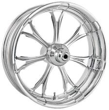 Performance Machine 21 Front Chrome Paramount Wheel Tire Rotor PKG Harley 14-15