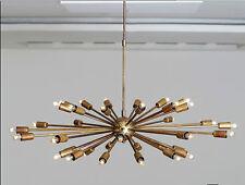 milieu de siècle SPOUTNIK Lustre Starburst FIXATION LAMPE 36 BRAS / AMPOULES 38