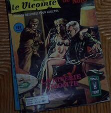 LE VICOMTE    LA SIBERIE VICOMTE No 6 <<1975< fred de noro<COMICS POCKET