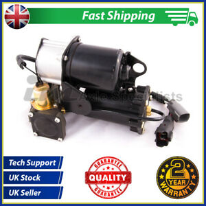 Fits Discovery 3 Air Suspension Compressor Lift Pump + Relay LR023964 Direct Fit