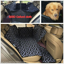 Hot Car Back Rear Seat Mat Cover Pet Dog Travel Hammock Protector Safety Cushion