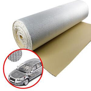 2.2m2 Car Cab Trunk/Hood Sound Deadener Insulating Thermal Aluminum Reflect Foam