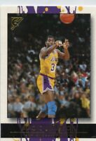 Magic Johnson 2000-01 Topps Gallery Base Card #100 Los Angeles Lakers