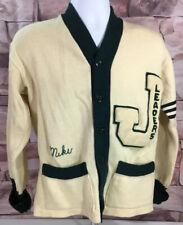 Vintage Varsity Letterman Cardigan Sweater Band Chorus Size M/L By Werth