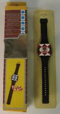 puzzle snake watch vintage, anni 80, nuovo con scatola!