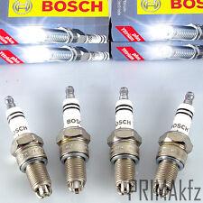 4x BOSCH 0242229658 Zündkerzen WR8LTC+ Audi 80 90 100 A6 Seat VW Golf T4 Passat