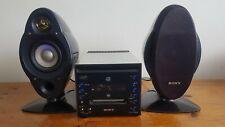 Sony CMT C5/de C5 MINIDISC/CD/radio stéréo hifi