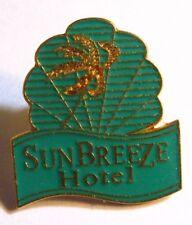 SunBreeze Hotel Lapel Pin - San Pedro Belize Sun Breeze Tropical Vacation Pin