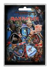 IRON MAIDEN PLEKTRUMSET / GUITAR PICK SET # 4 FEAR OF THE DARK THE BOOK OF SOULS