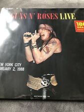 GUNS N' ROSES From New York City / February 2 1988 (Red Vinyl) NEW AND SEALED