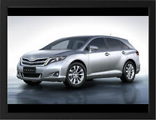"""TOYOTA VENZA A3 FRAMED PHOTOGRAPHIC PRINT 15.7""""x11.8"""""""
